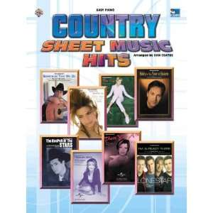 Country Sheet Music Hits Easy Piano (9780757918261