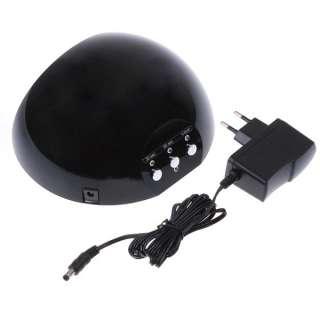 Mini 12W 110V / 220V UV Gel Nail Art Curing Drying Lamp Light Polish