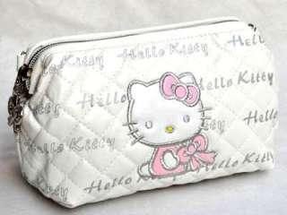 SANRIO HELLO KITTY COSMETIC BAG MAKEUP CASE PURSE P12 W