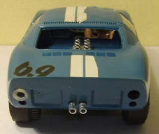 Cox 1/24 Ford GT Slot Car with Decals, 1960s