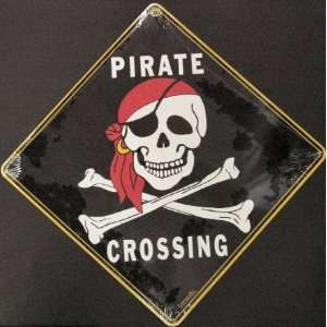 Pirate Skull and Crossbones Jolly Roger    Full Color 16
