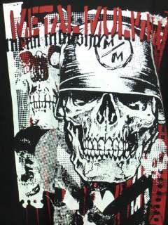 Metal Mulisha T Shirt Skull Mascot Cranium Motif M