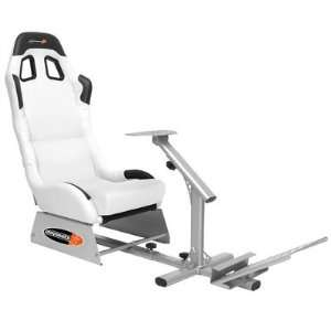 Playseats 72001 Evolution Game Chair in White and Silver