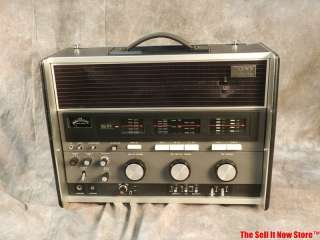SONY CRF 230 WORLD RADIO 23 BAND SHORTWAVE FM SOLID STATE RECEIVER