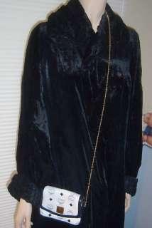 Vintage Authentic MCM LOGO Michael Cromer Designer Shoulder Bag Purse