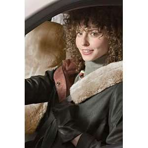 DC 57 Lowback Custom Sheepskin Car Seat Cover/Drivers, PEARL, Size 1