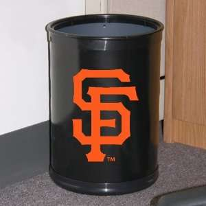 San Francisco Giants Black Team Wastebasket Sports