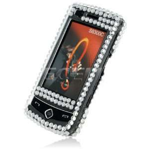 USA AMERICAN FLAG CRYSTAL BLING CASE FOR SAMSUNG S8300 Electronics