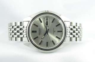 Seiko Automatic Cir.1970s17 Jewels 7006 8007 Mens Wristwatch With Day