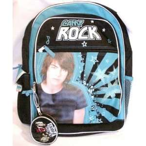 Camp Rock Rock Backpack With Coin Purse Blue Toys & Games