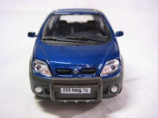 Renault RX4 blue Cararama Diecast Car Model 143 1/43