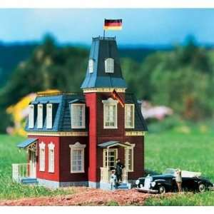 GERMAN EMBASSY   PIKO G SCALE MODEL TRAIN BUILDINGS 62054