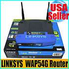 Linksys Wireless G WAP54G Access Point 2.4 GHz 802.11g
