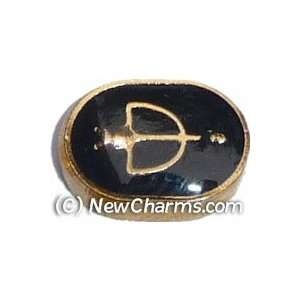 Sagittarius Floating Locket Charm Jewelry