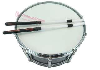 AHEAD RockStix LIGHT Frosted White RSH Fiber Drumsticks Rods Drum