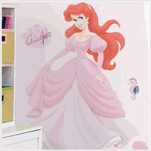 Ariel Giant Wall Decal with Gems in York Disney