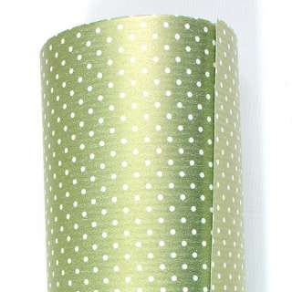 Green Dot BULK Gift Ream Roll Wrapping Paper 82ft 25M