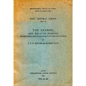 Congo,: P. T. W. Colson, Audrey Butt. Baxter:  Books