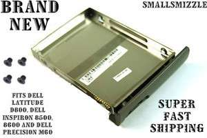 NEW DELL LATITUDE D800 INSPIRON 8500,8600 LAPTOP HARD DRIVE CADDY WITH