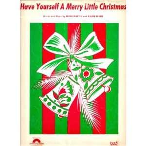 Yourself A Merry Little Christmas: Hugh Martin, Ralph Blane: Books