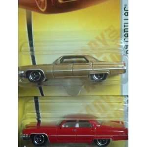 Matchbox Heritage Classics Collection 69 Cadillac Sedan Deville Color