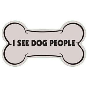 I See Dog People Vinyl Sticker