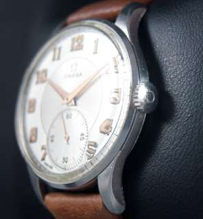 Vintage OMEGA Mens Classic Dress Swiss Watch UHREN RELOJ MONTRE