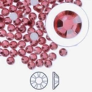INDIAN PINK HOTFIX SWAROVSKI Rhinestone Crystal 10ss