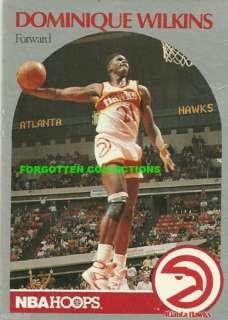 DOMINIQUE WILIKINS  F  ATLANTA HAWKS 1990 NBA Hoops