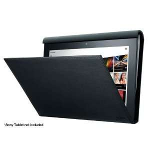 Sony SGPCV1/B Black Leather Carrying Case Cover & Stand