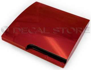 RED CHROME SKIN for PS3 SLIM Playstation 3 system