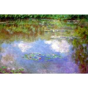 Claude Monet Water Lilies, The Clouds  Art Reproduction