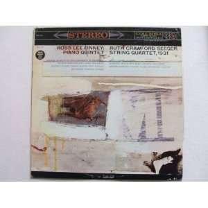Crawford Seeger String Quartet 1931   Ross Lee Finney Piano Quintet
