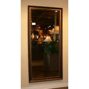 Extra Large Dark Gold Wall Mirror FULL LENGTH Antique XL