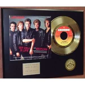 Gold Record Outlet LoverBoy 24kt Gold Record Display LTD