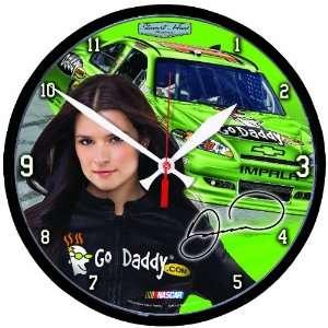 NASCAR Danica Patrick Round Clock