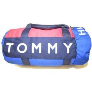 Tommy Hilfiger Big Logo Duffle Bag (Blue/navy/red): Clothing