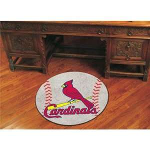 Louis Cardinals MLB Baseball Round Floor Mat (29) Everything Else