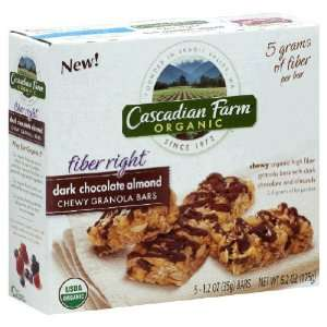 Cascadian Farm   Chewy Granola Bars   Dark Chocolate Almond   6 bars