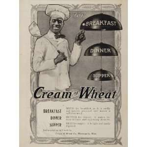 1901 Ad Cream of Wheat Bells Rastus Black Americana
