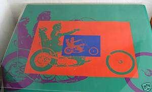 Easy Rider Peter Fonda Motorcycle Blacklight Poster
