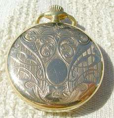 MAJESTIME FRANCE ANTIQUE LADIES 17 JEWEL POCKET WATCH # 47913