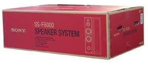 SS F6000 SONY TOWER FLOOR SPEAKERS SSF6000 NEW