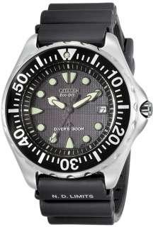 Citizen Eco Drive Professional Diver Rubber Strap Mens Watch BN0000
