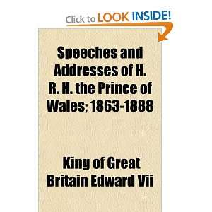 ; 1863 1888 (9781154853858) King of Great Britain Edward Vii Books