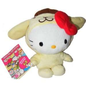 Hello Kitty Dressed as Purin Plush 18567 Toys & Games