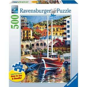 Exotic Harbor Large Format 500 Piece Puzzle Sports