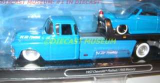 TRUCK FLATBED 1950 50 MERCURY ELITE TRANSPORT MAISTO DIECAST