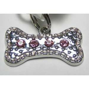 Ganz EL 6440 Tag Charm for Dog Pink Bone
