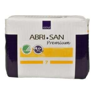 Abena Abri San 7 Incontinence Pads   Case of 90 (14 x 25